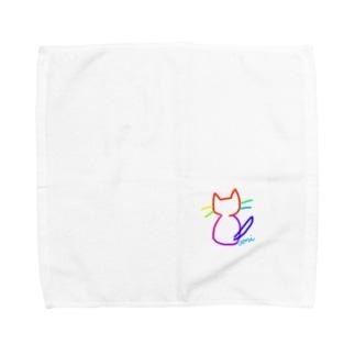 なないろ nya! Towel handkerchiefs
