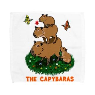 the capybaras Towel handkerchiefs