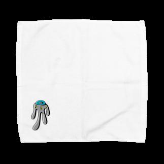 カイカイの出店のトロントロン星人 Towel handkerchiefs