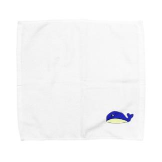 わるくじら Towel handkerchiefs