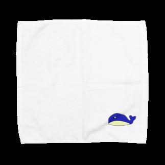 くじらの通販のわるくじら Towel handkerchiefs