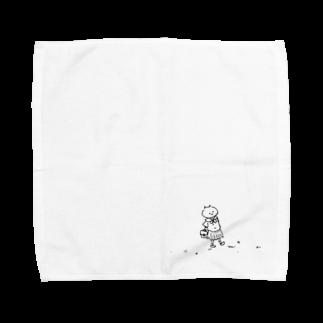 なるのセーラー服が着たかった Towel handkerchiefs