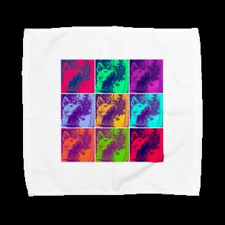 chanleleのSAIGO-KEN Towel handkerchiefs