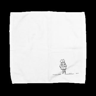なるの子どもが好きです Towel handkerchiefs
