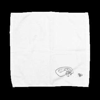 なるの好きな食べ物は柑橘類です🍊 Towel handkerchiefs