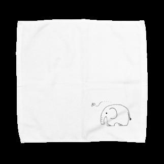 なるのねこです🍎 Towel handkerchiefs