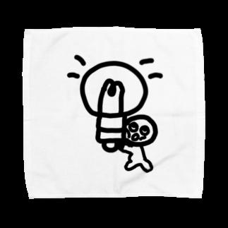 Venizakuraのひらめいたくん Towel handkerchiefs