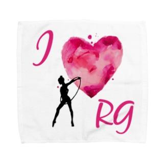 I♡RGフープイラスト アクセサリー  Towel handkerchiefs