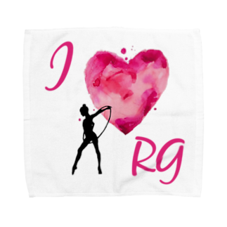 lilli-starlingのI♡RGフープイラスト アクセサリー  Towel handkerchiefs