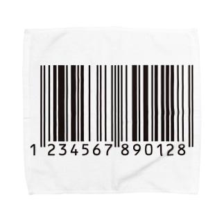 バーコード Towel handkerchiefs