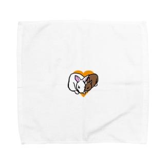 仲良しピノシェリ Towel handkerchiefs