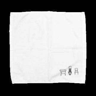 なるの結局なにもわからないまま Towel handkerchiefs