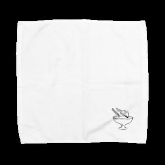 なるの青い光 Towel handkerchiefs
