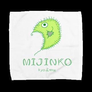 kyo&muのkyo&mu MIJINKO Towel handkerchiefs