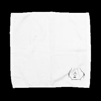 なるのマリオネットにスポットライト Towel handkerchiefs
