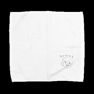 ショップどろだんごのふざけてます Towel handkerchiefs