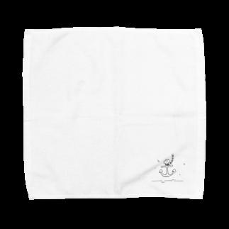なるの出航 Towel handkerchiefs