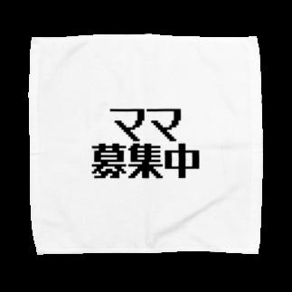パパ活ママ活グッズのママ募集中 Towel handkerchiefs