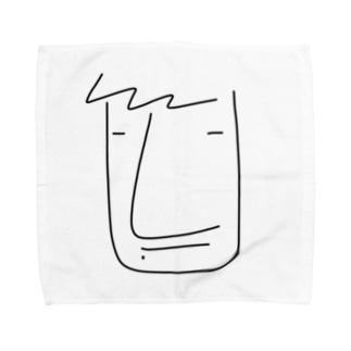 よちくん Towel handkerchiefs
