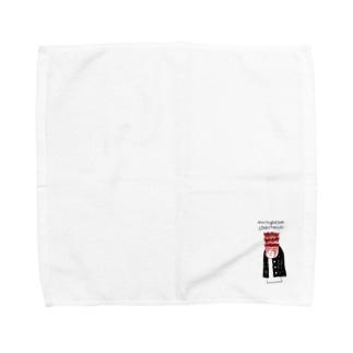 ねむみの生きもの その2 Towel handkerchiefs