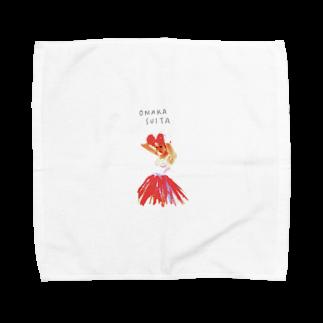 a_nrm_24のおなかすいた Towel handkerchiefs
