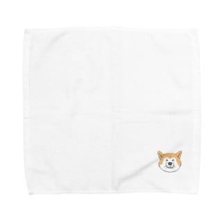 あきたいぬ Towel handkerchiefs