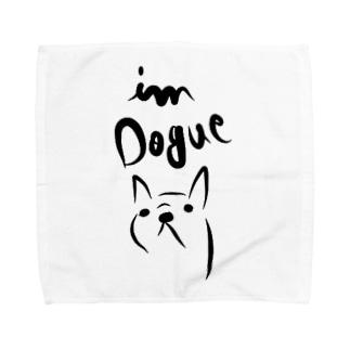 I'm DOGUE フレンチブルドッグ Towel handkerchiefs
