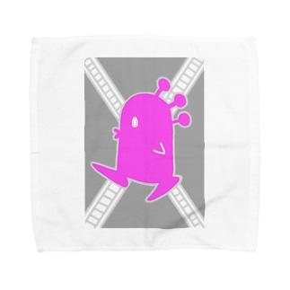 クチブエ・モモ Towel handkerchiefs