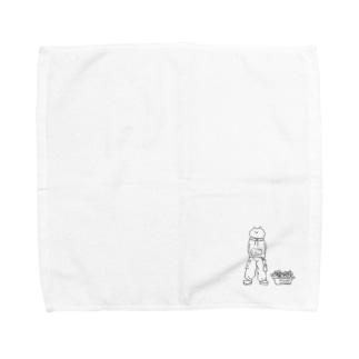 ぼくが君を守る Towel handkerchiefs