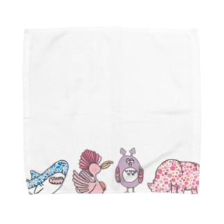 集合! Towel handkerchiefs