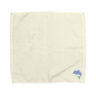いるかのタオルハンカチ Towel handkerchiefs