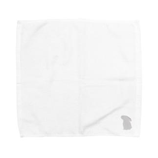 うさぎのタオルハンカチ Towel handkerchiefs