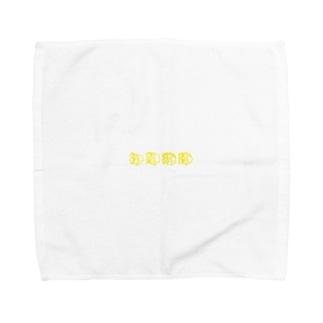初期微動 Towel handkerchiefs