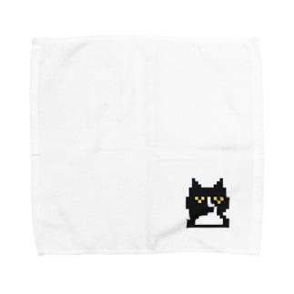 ドット絵 ウチノネコ Towel handkerchiefs