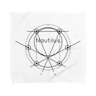 タオルハンカチ-Nautilus. Towel handkerchiefs