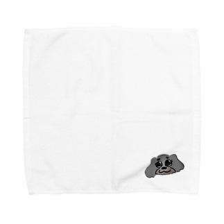 あんずちゃん(顔) Towel handkerchiefs