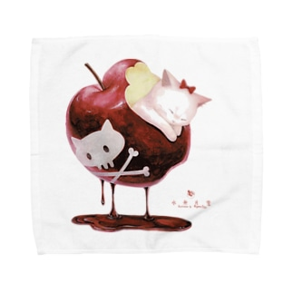 白猫姫 Towel handkerchiefs