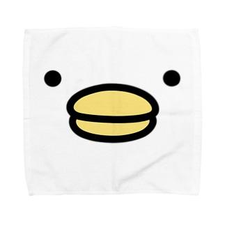 うるせぇトリ(顔のドアップ) Towel handkerchiefs