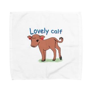 Lovely Calf Towel handkerchiefs