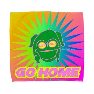 GOHOME《蛙》 Towel handkerchiefs