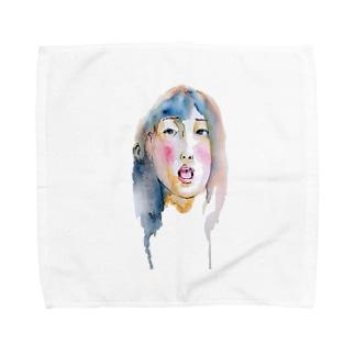 女の子だよ Towel handkerchiefs