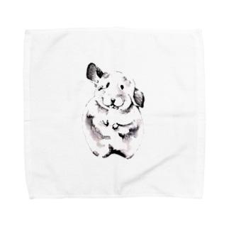 ねずみ Towel handkerchiefs