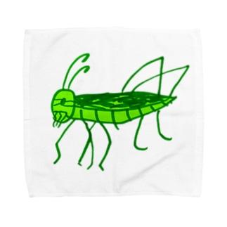 トノサマバッタ Towel handkerchiefs