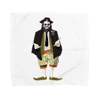 HARLAND GONE Towel handkerchiefs