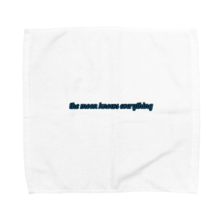 moon knows everything☽ Towel handkerchiefs