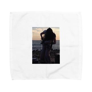ばねとりこ Towel handkerchiefs