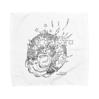 手拭き Towel handkerchiefs