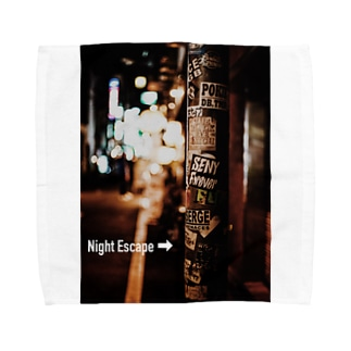 【Night Escape】Pole  Towel handkerchiefs