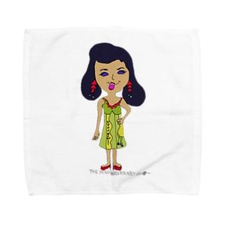 オシャレ大好きたま子 Towel handkerchiefs