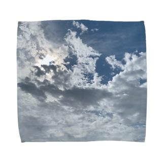 お天気雨(画像拡大版) Towel handkerchiefs